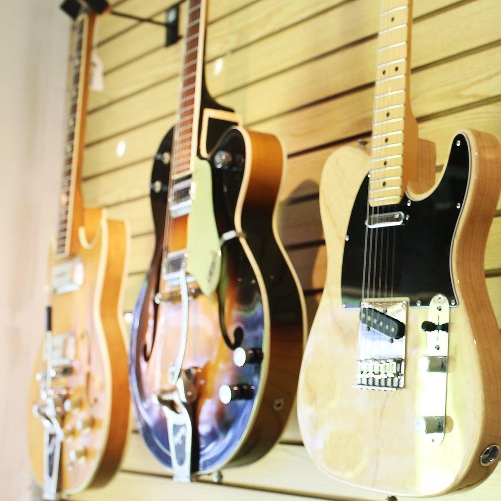guitar wall