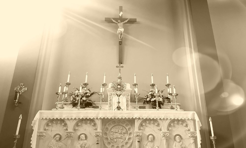 October 05   First Friday   Mass 7pm, Adoration following