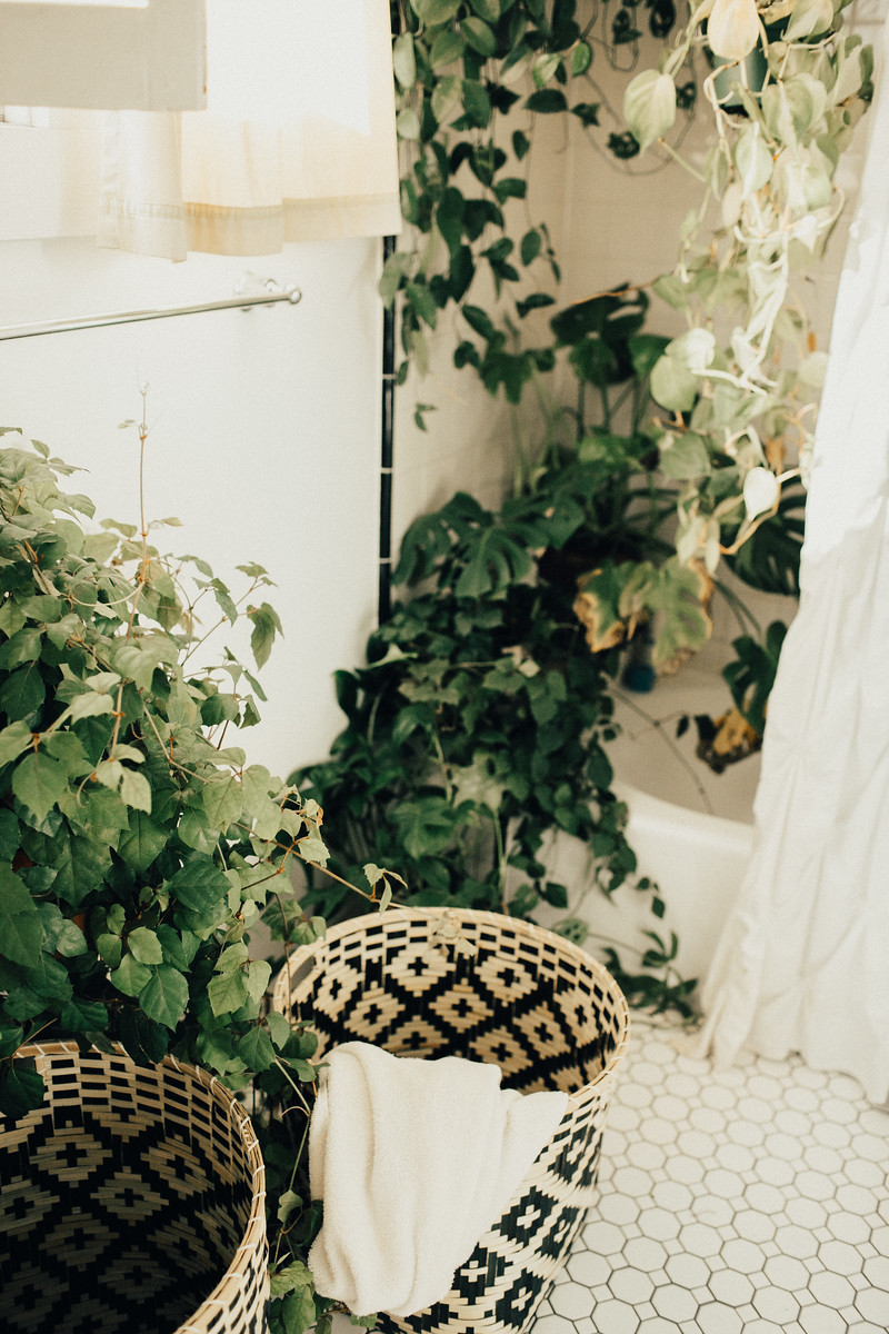 connected goods baskets at home & farmers market // lace and likes