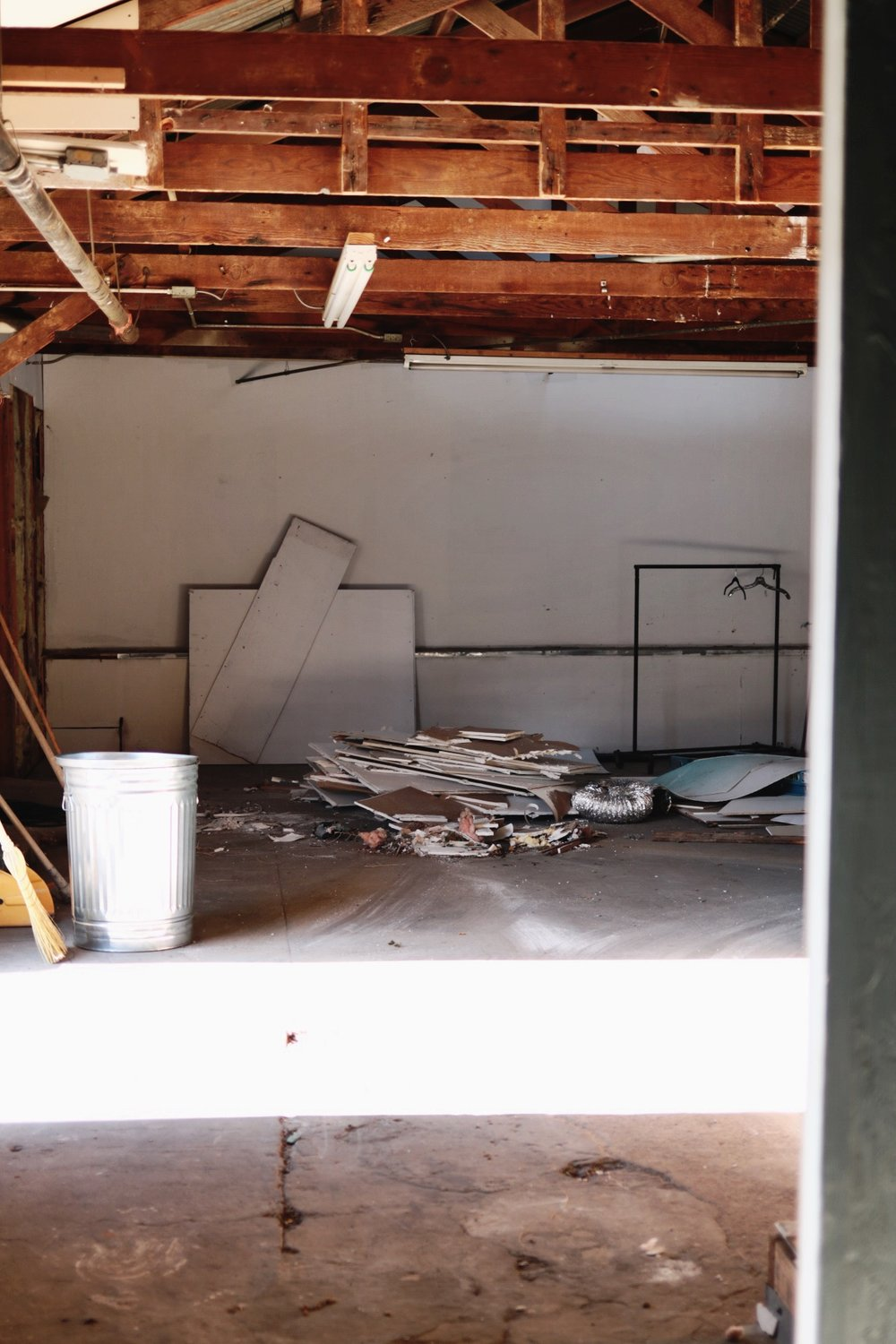 Lace and Likes / Siren Floral Co. Creative Studio Remodel — BEFORE