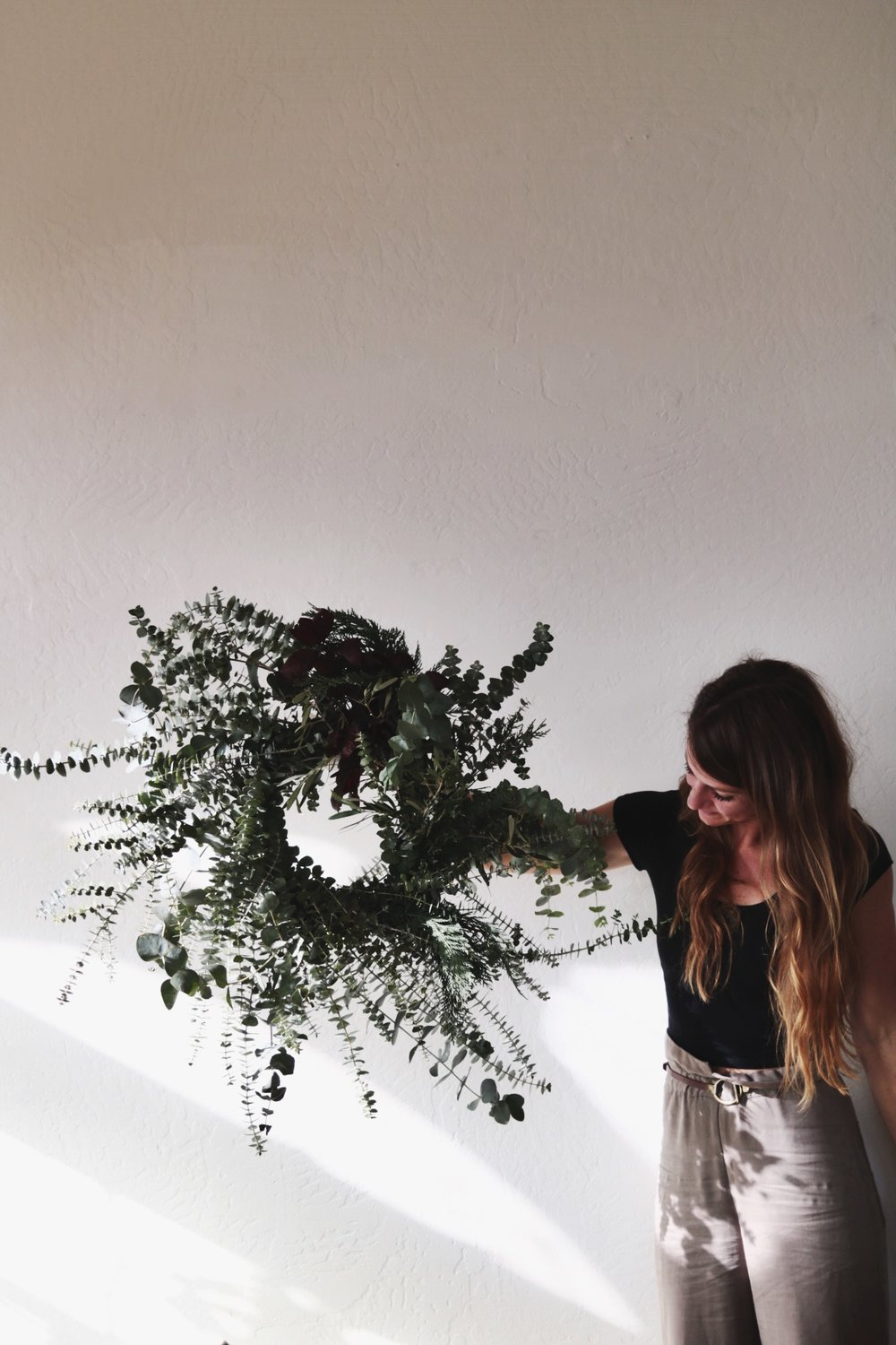Prism Boutique wreath making workshop with Rachael Lunghi of Siren Floral Co.