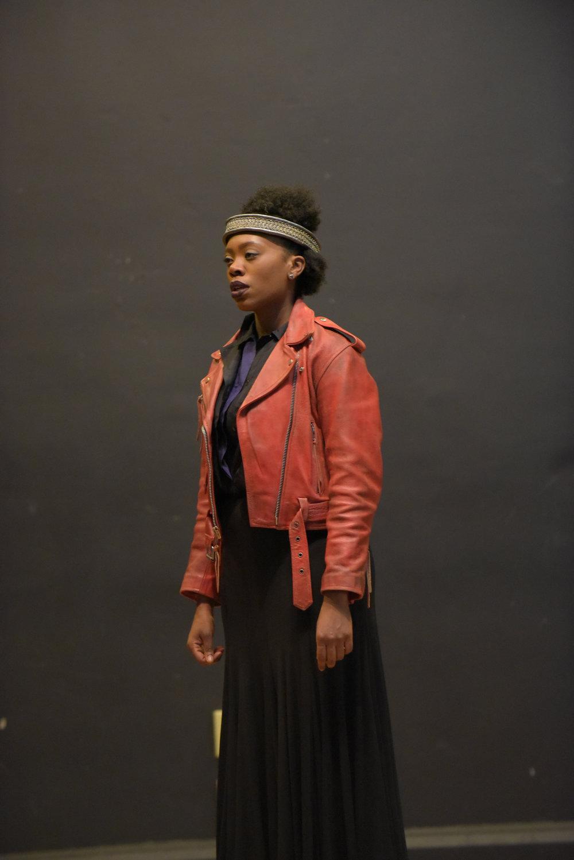Akilah A. Walker as Lady Macbeth in Macbeth