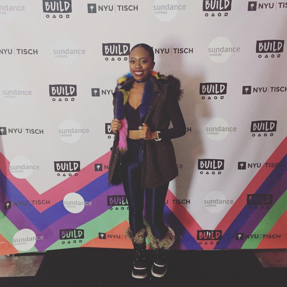 Akilah A. Walker at Sundance Film Festival 2017