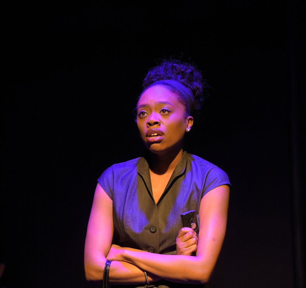 Akilah A. Walker as Katelyn in 'Promiscuous Cities'  Photo by Alessandra Mello