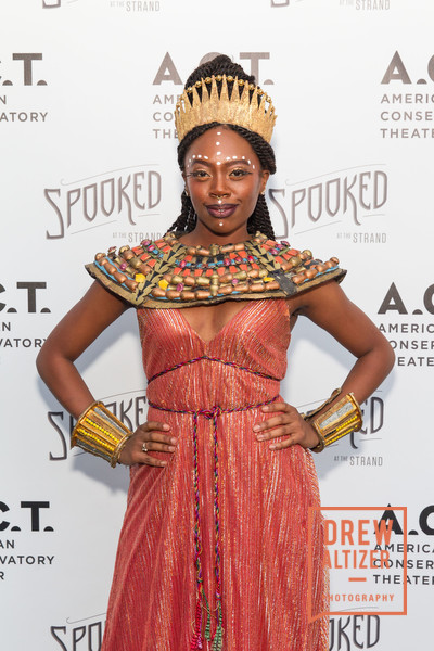 Akilah Walker at 'Spooked' at A.C.T.'s Strand Theatre   Photo by Drew Altizer