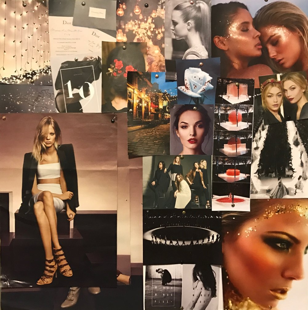 Our mood board.