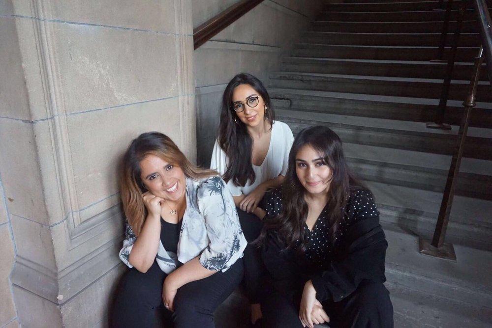 l-r: Rasha, Vivian, Riezan