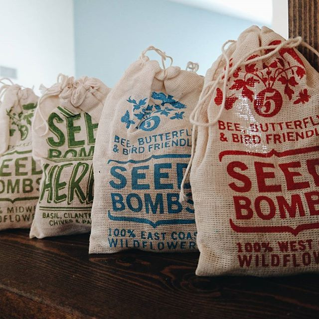 Free seed bombs with any purchase. Whether it's a single flower crown or a big event, you're going to get some free seed bombs!