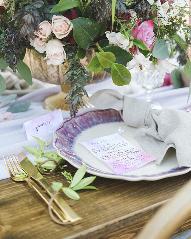 dreaming back to this soft, feminine tablescape. #florals #flowers #bridal #tablesetting
