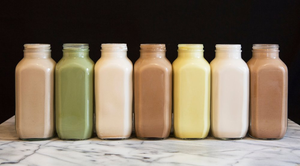 Nut Milk Tonics