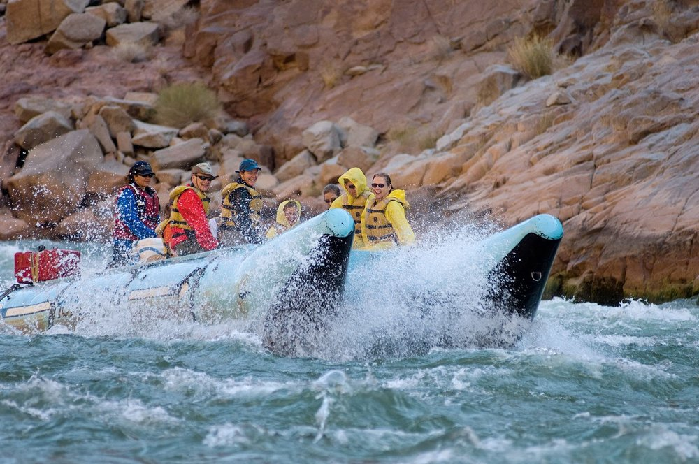 Grand Canyon Water Rafting