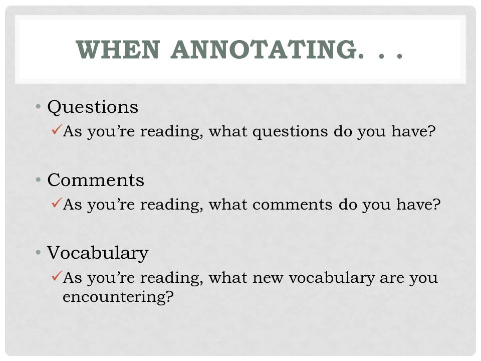 Annotation Made Simple