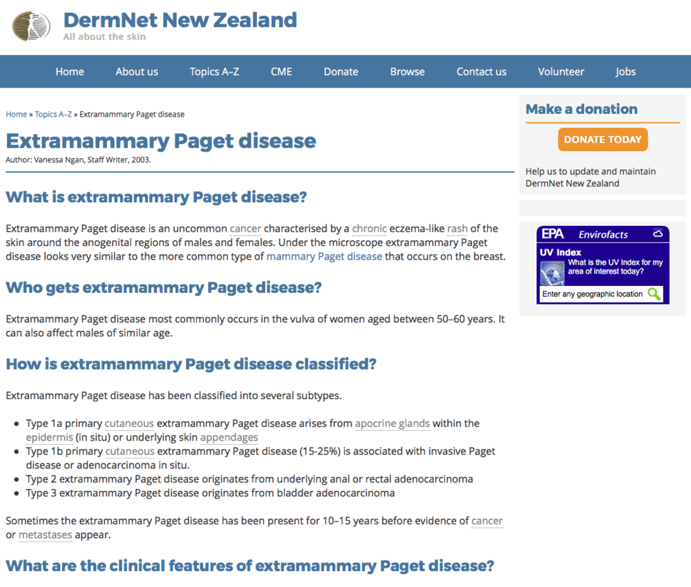 DermNet New Zealand