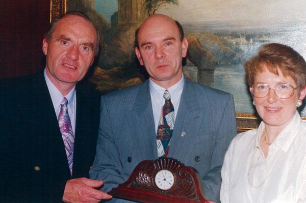 1993: Presentation of McNamee Award