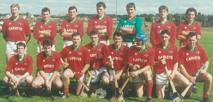 Cashel King Cormac's, West senior hurling champions 1993  Back row, left to right: T.J. Connolly, Joe O'Leary, Donal Ryan, Pat O'Donoghue, John Ryan, Seanie O'Donoghue, Joe Minogue; Front row, left to right: Michael Butler, Ramie Ryan, Ailbe Bonnar, Colm Bonnar, Conal Bonnar, Cormac Bonnar, Willie Fitzell (capt.), Michael Perdue.