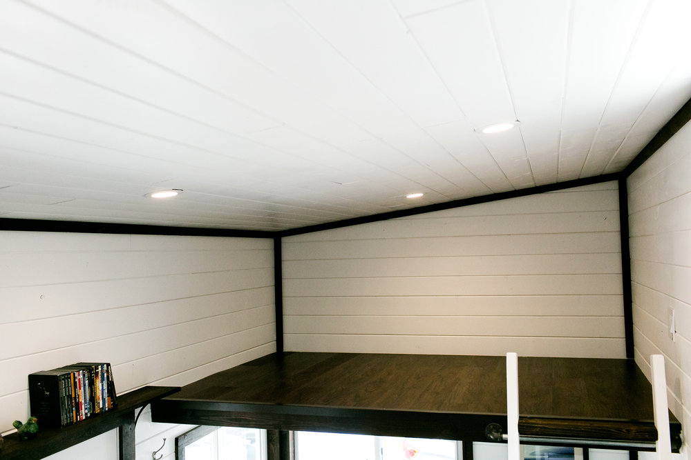 2nd loft for storage or extra sleeping space
