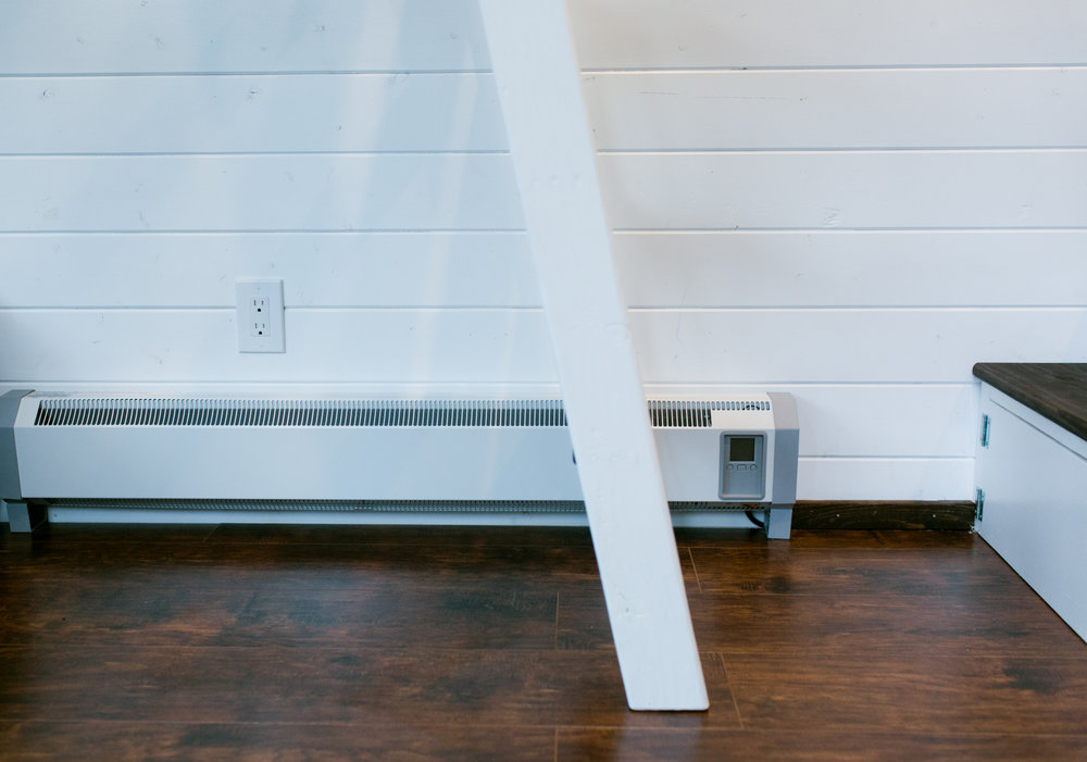 Efficient Hydronic baseboard heater