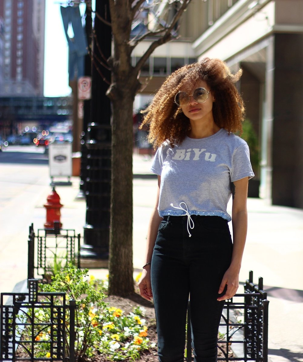 Model: Aija Moreno  Photo by   Evan Ramsey