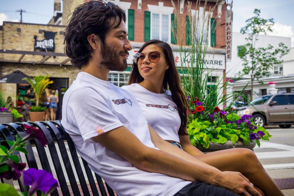 Models: Peder Cho & Cyntheia He  Photos by   Tajh Virgil