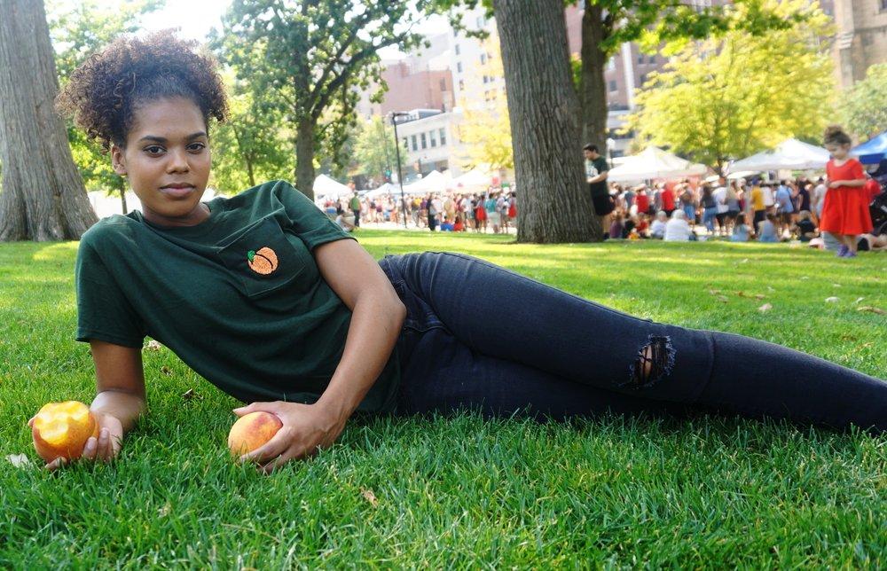 Model:   Nicia Joyner    Photo by P.C.