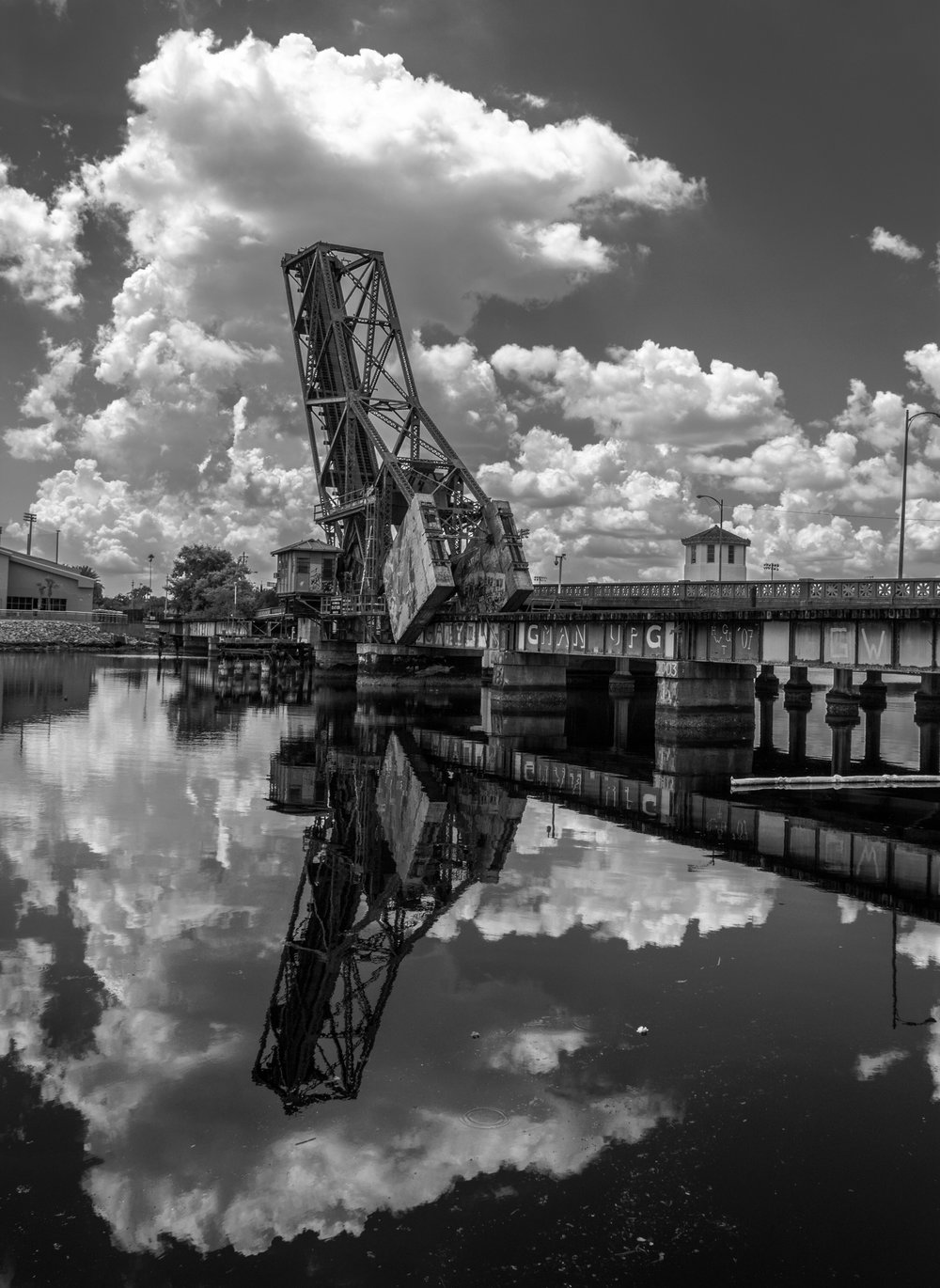 Old Steel Railroad Bridge, Downtown Tampa