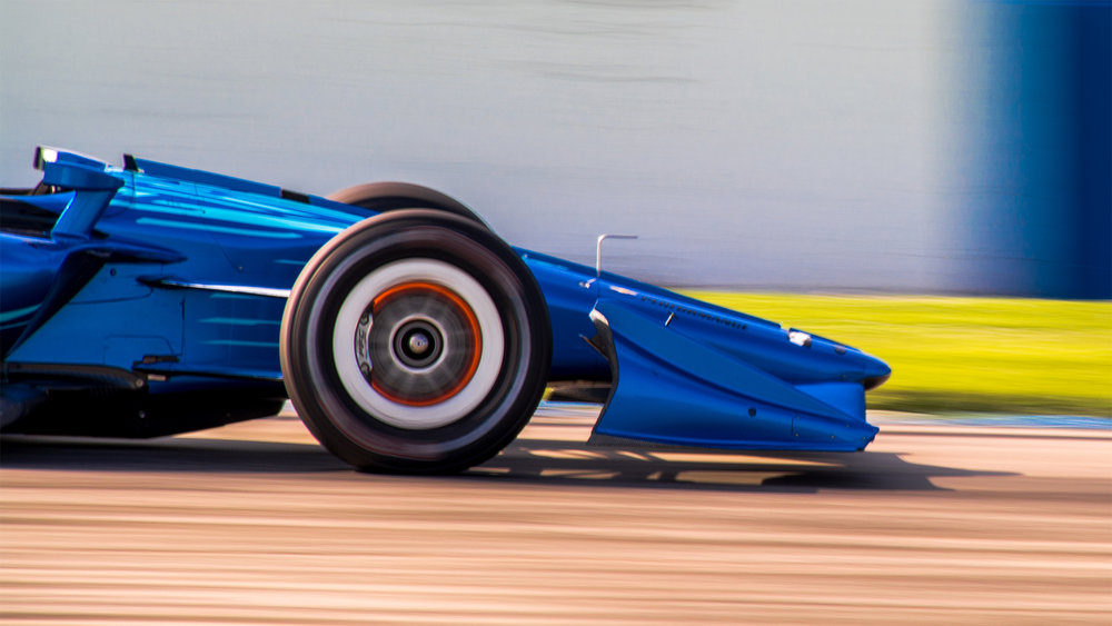 IndyCar 2018 Body Kit Test