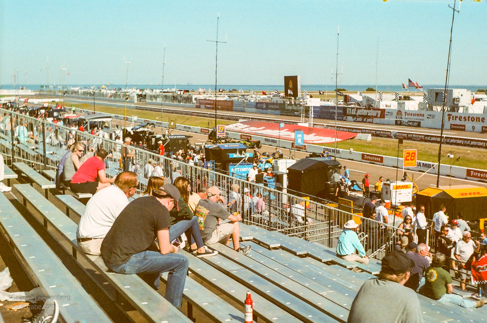 2018 Grand Prix of St. Petersburg; Shot with a 1951/52 Exa Version 1 on expired 3M Scotch 100 Color Film