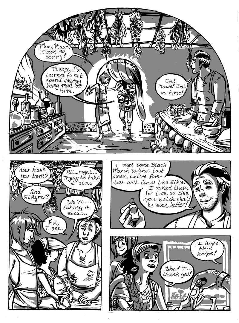 Elk & Crow (Page 7)