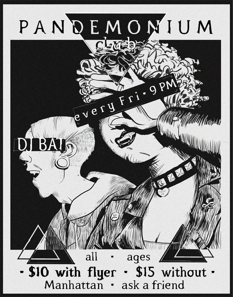 Pandemonium Club Poster