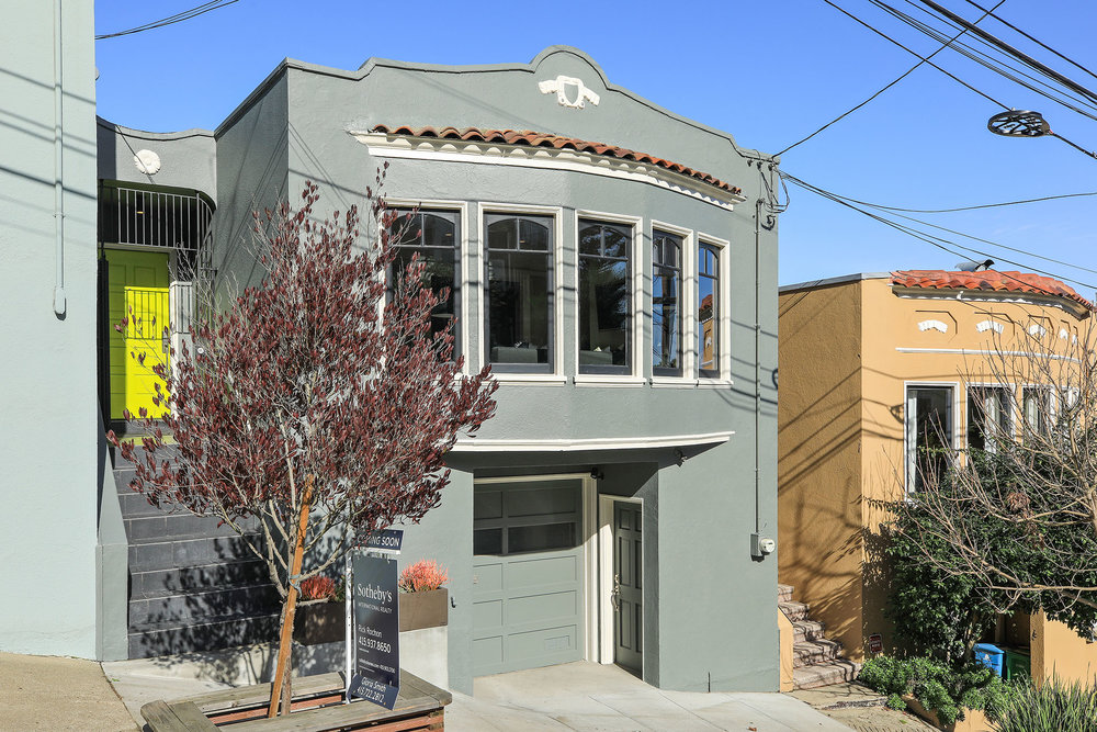 NOE VALLEY CHARMER  Represented Seller: $2,600,000 (Sold Over List Price)