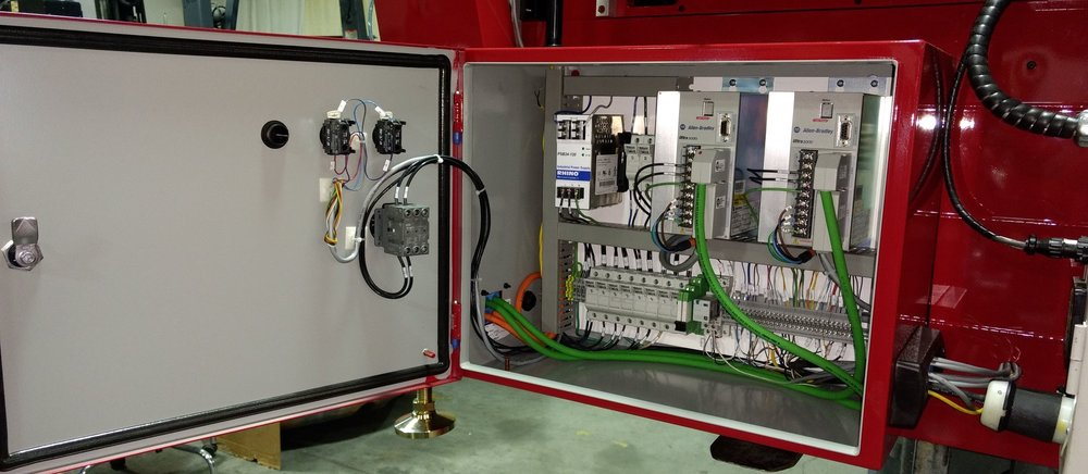 Control Panels & PLC Programming -