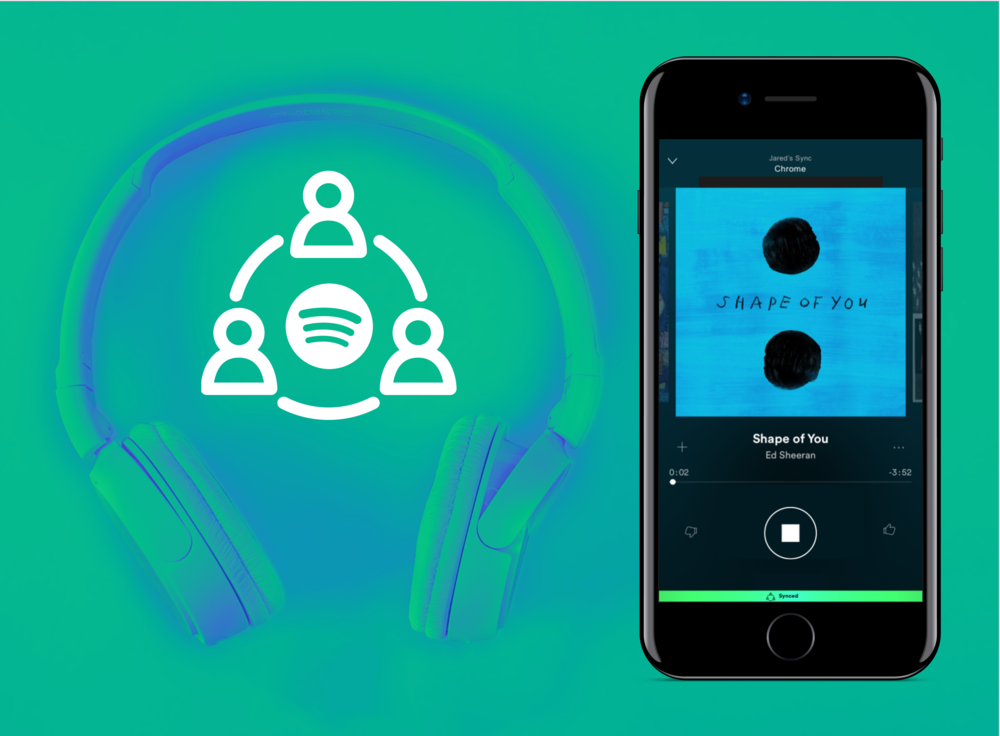 Spotify Sync - Listen Together