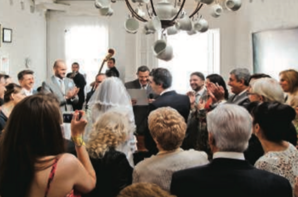 Mysteries of the city: A story about the increasing number of couples looking for wedding parties held with small numbers of guests.