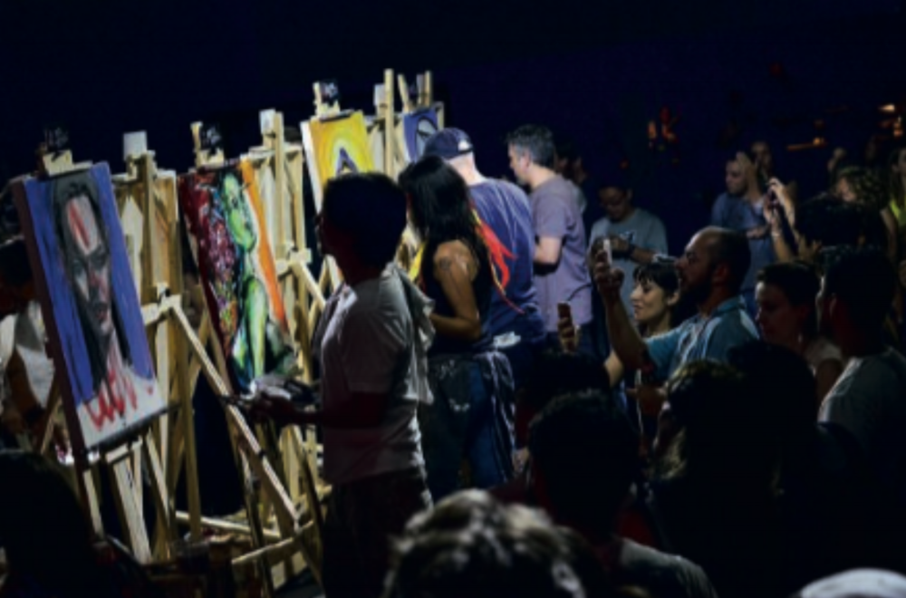 Mysteries of the city: A story about an Art Battle that takes place on a shed in the Pinheiros neighborhood in Sao Paulo and gathers around 400 people per edition.