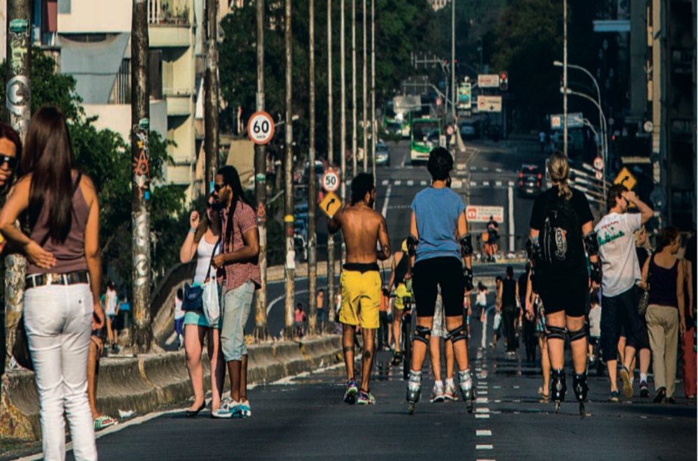 Cover story:The project to close the Minhocão viaduct on Saturdays moves forward and discussions about deactivation for cars increase while movements promote activities on the spot.