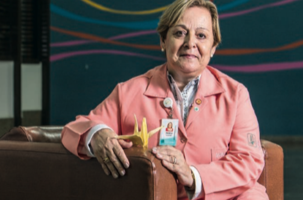 Top Sao Paulo citizen: The story of Roseli Michetti, who has volunteered for 22 years in Sao Paulo's  hospitals  city to support patients and their families.