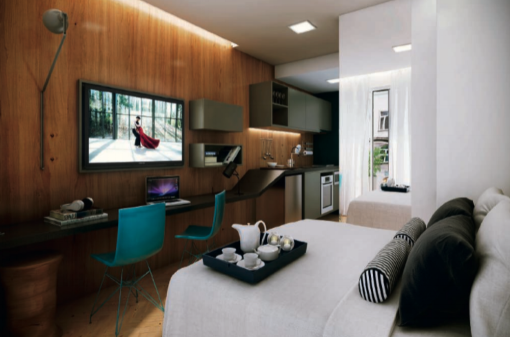 Mysteries of the city:Apartments with less than 40 square meters have become a niche in the city's real estate market; stadiums tours star to become popular in Sao Paulo.