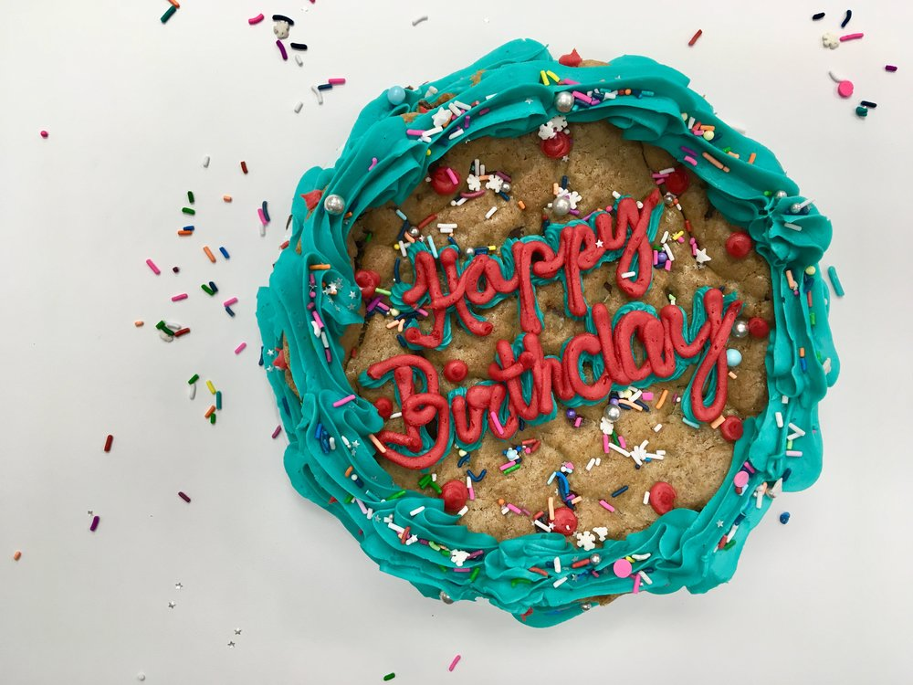 Cookie Cakes - Available in our Chocolate Chip or Sugar CookieMini - 6