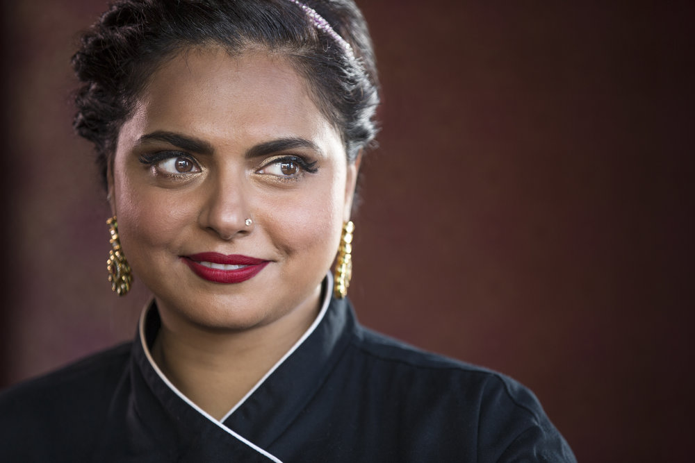 <strong>Chopped, Food Network</strong><br>Maneet Chauhan