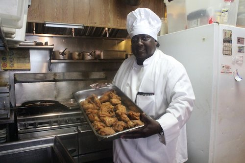 <strong>Charles Gabriel</strong><br>Charles Country Pan Fried Chicken