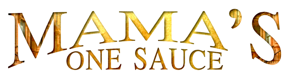 Mama's One Sauce logo.png