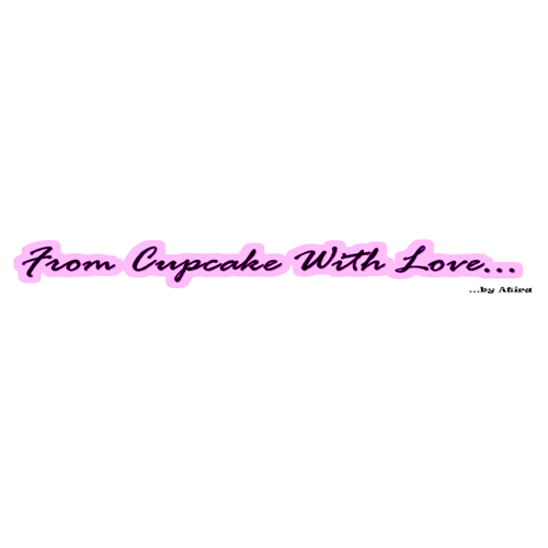 <strong>From Cupcakes with Love</strong>