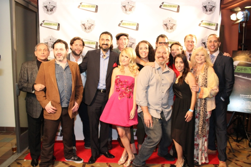 OFF THE GRID Cast and Crew at the premiere at Sundance Cinemas.