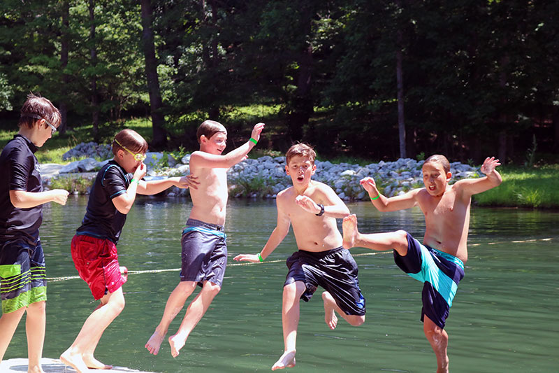 NaCoMe Christian Camp | The Swimming Hole
