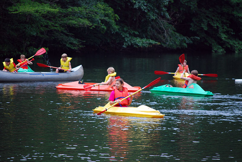 NaCoMe Christian Camp | Canoes & Kayaks