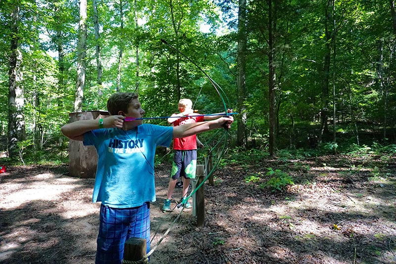 NaCoMe Christian Camp | Archery