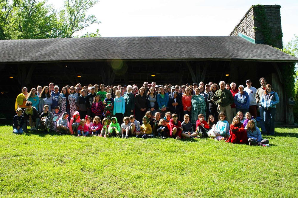 NaCoMe staff and campers