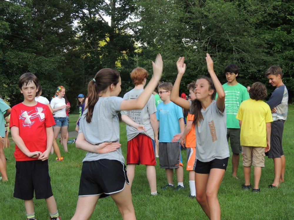 NaCoMe Summer Camp Games
