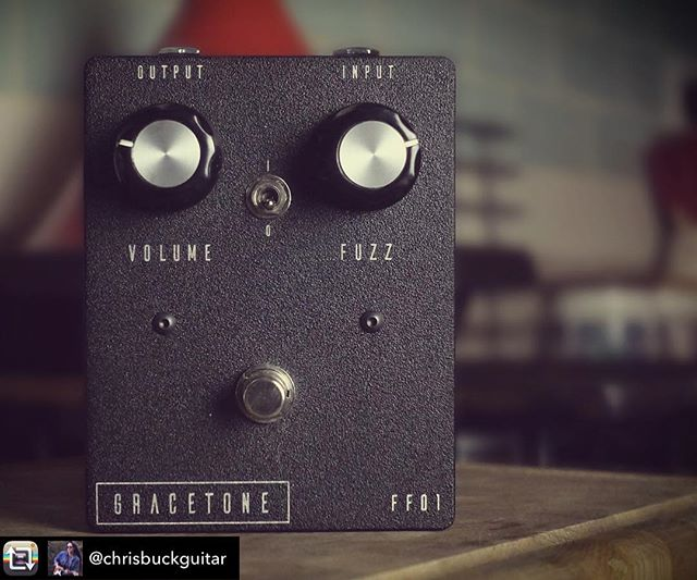 The very talented @chrisbuckguitar is putting our Gracetone FF-01 NKT fuzzface through its paces! Stay tuned!!! Repost from @chrisbuckguitar using @RepostRegramApp - I've been on a bit of an exhaustive germanium fuzz hunt recently to replace my old Cornell Dallas Arbiter Fuzz Face (which sounds amazing but it's a bit old and cranky...) and I've settled on this @gracetoneeffects FF01 from Australia. Suffice to say it sounds utterly monstrous! Videos to follow soon... • • • #GracetoneFuzz #FuzzFace #GermaniumFuzz #DallasArbiter #JimiHendrix #GermaniumFuzzFace #FuzzPedal #Pedalboard #GearyBusey #ToneMob #KnowYourTone #PedalPorn # ChrisBuck #SonyRX100V
