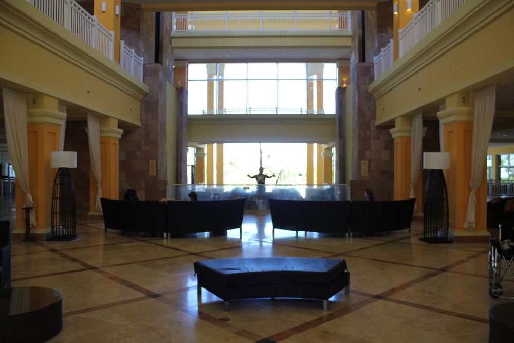 Marriott Resort St. Kitts – Hotel lobby